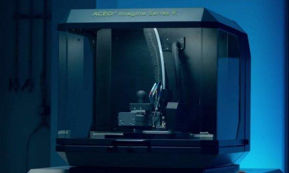 3D-принтер для печати из силикона