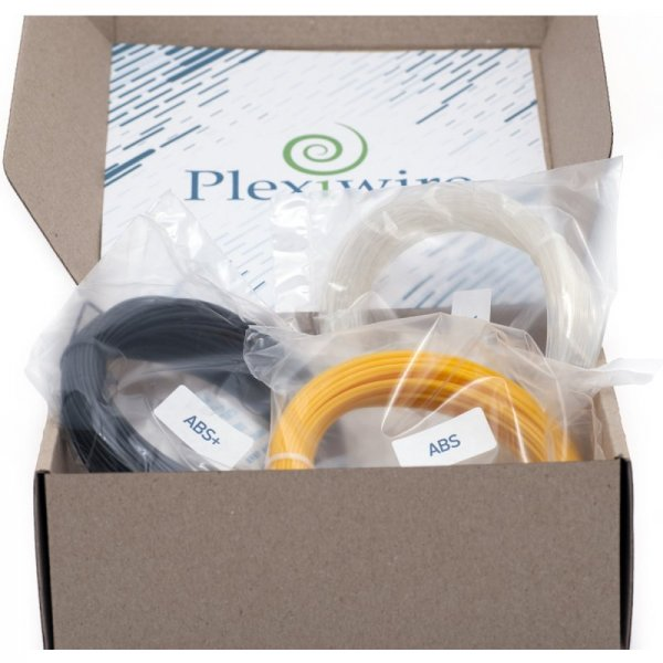 3D-пластик комплект пробники для 3D печати ABS, ABS+, PLA, PETG, Nylon, FLEX