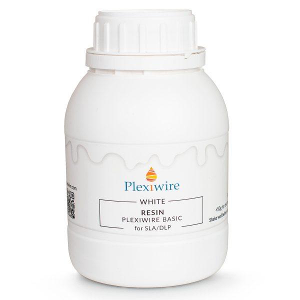 Фотополимерная смола Plexiwire resin basic 0.5кг white купить