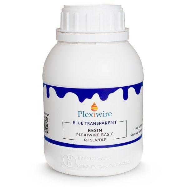 Фотополимерная смола Plexiwire resin basic 0.5 кг blue transparent купить