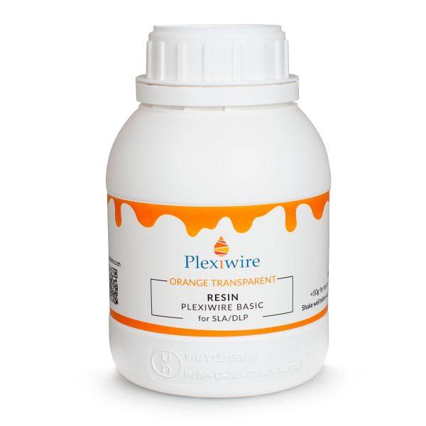 Фотополимерная смола Plexiwire resin basic 0.5 кг orange transparent