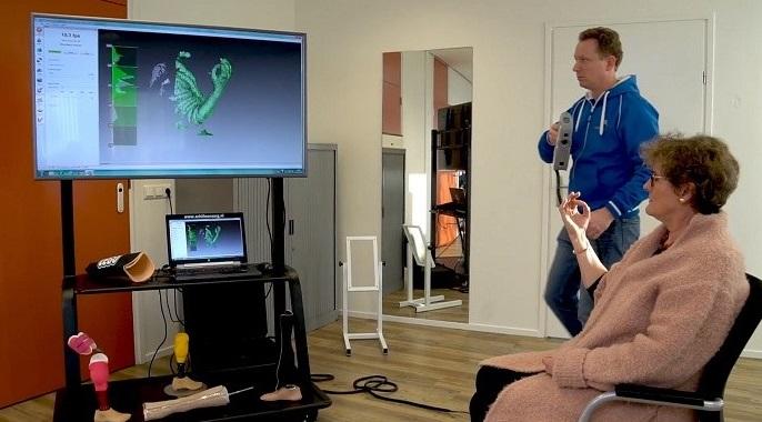 безопасный медицинский 3D сканер