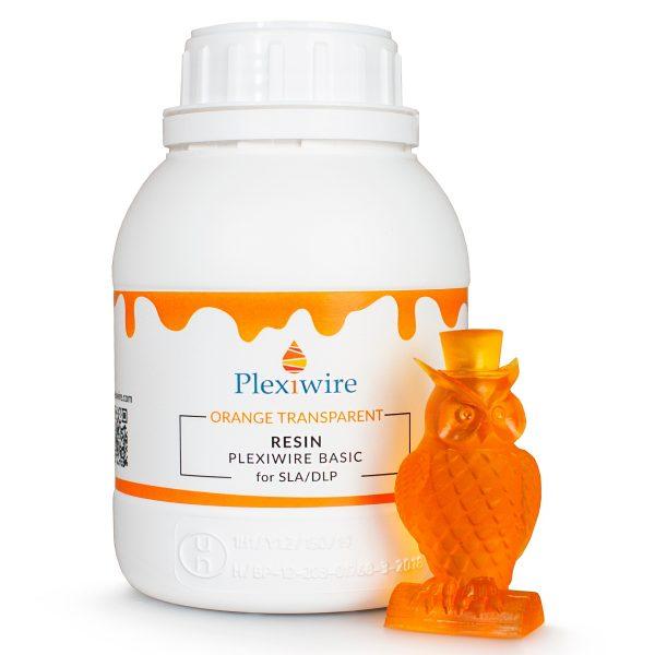 смола Plexiwire resin basic 0.5 кг оранжевая прозрачная