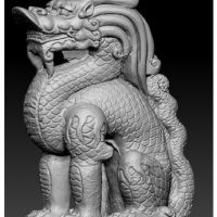 3D сканер сканирование предметов искусства