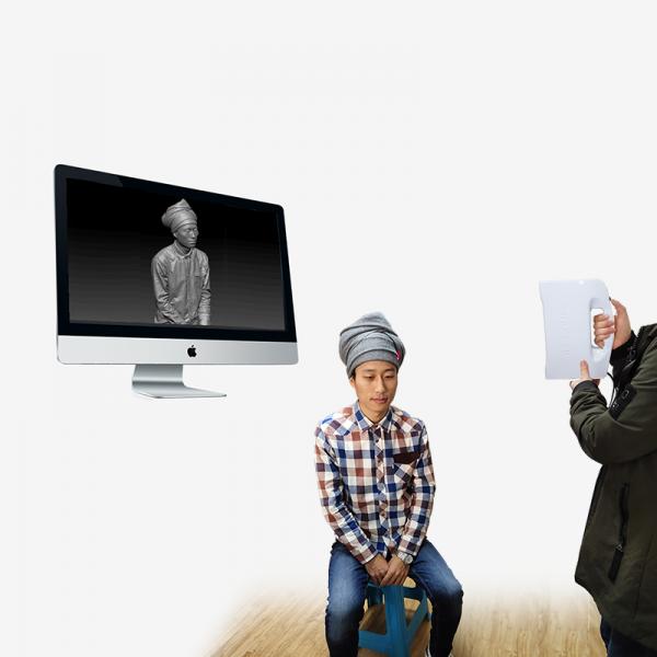 3D сканер Thunk3D Fisher W сканирование человека