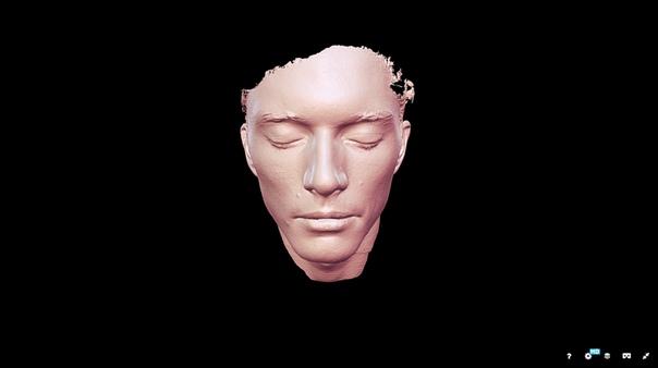 3D-сканер сканирование лица