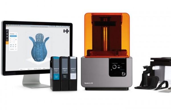 Formlabs Form 2 лучший 3д принтер