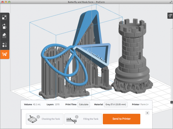 Formlabs Form 2 3д модель