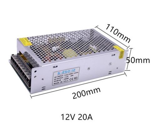 Блок питания S-250-12 12V 20A