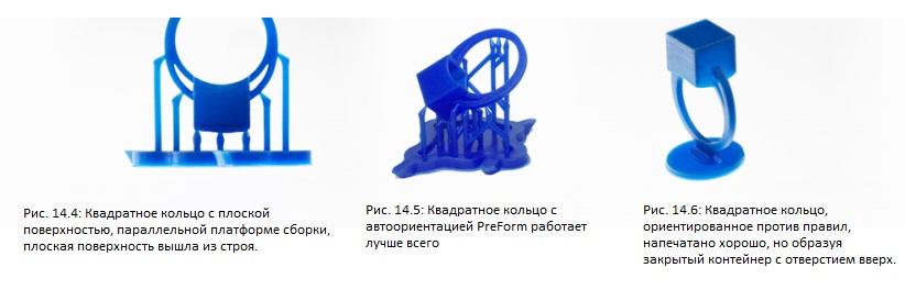 Орієнтація в просторі 3D моделі ювелірного виробу для зменшення пробем 3D друку