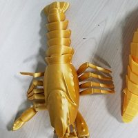 Золотий пластик KLEMA зразок