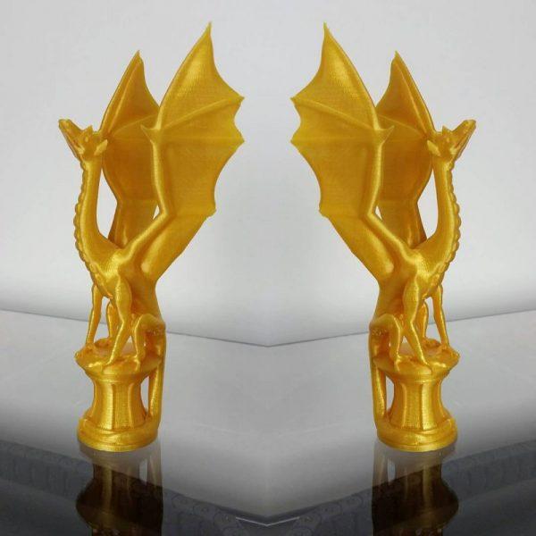 Золотий пластик KLEMA вироби