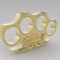 изделия из латунного пластика 3D