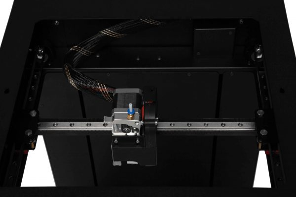 3Д принтер KLEMA система h-bot рельсовые направляющие печатающая головка