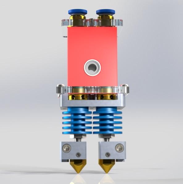 Екструдер-3D-принтера-CreatBot DM