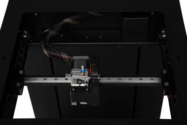 3D printer KLEMA h-bot system rail guides print head